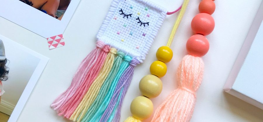 Mini Unicorn Wall Hanging